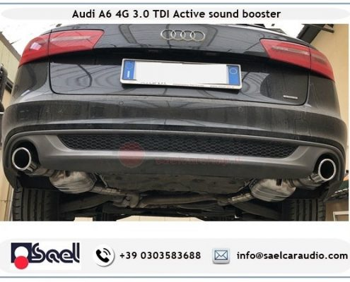Active sound booster Audi A6 4G