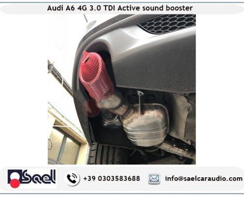 Kufatec sound booster Audi A6 4G 3.0 tdi