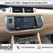 Alpine iLX-702D Range Rover Evoque