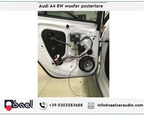 Impianto audio Focal Audi A4 B9