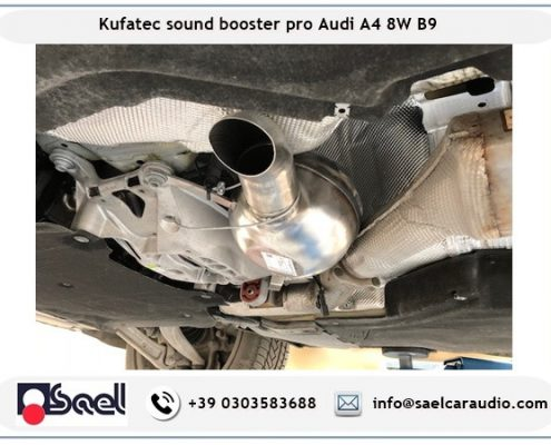Active sound booster Audi A4 B9