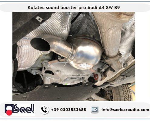 Kufatec sound booster Audi A4 B9