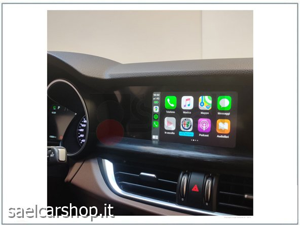 carplay / android auto Alfa Romeo Giulia / Stelvio